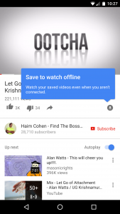 Youtube offline variant 2