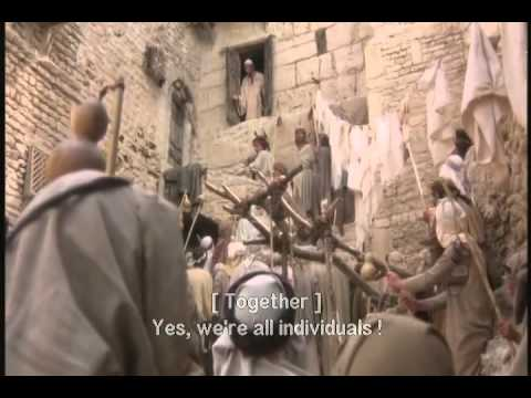 We are all individuals (Life of Brian - Monty Python)