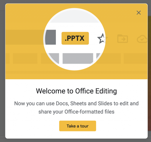 google presso - welcome to office editing